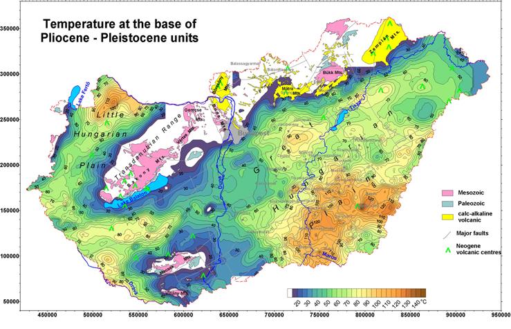 geotermikus térkép magyarország Európa Teljesen Felkészületlen   Evelocal geotermikus térkép magyarország