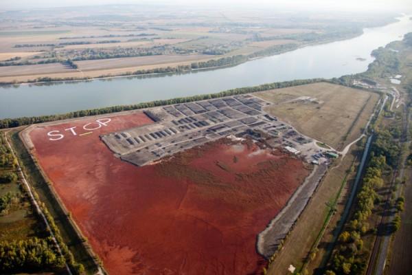 almásfüzitői vörösiszap-tározó