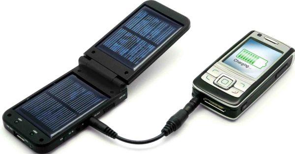 napelemes töltő