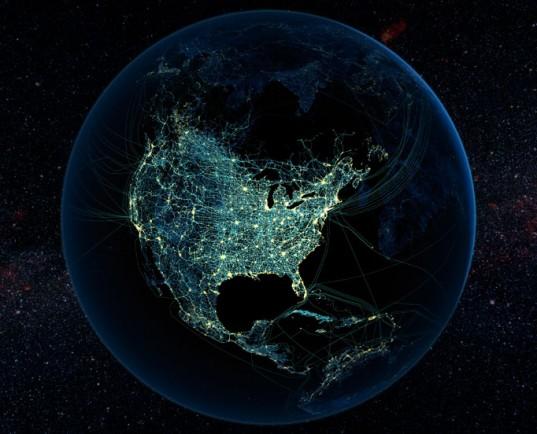 USA fényszennyezés