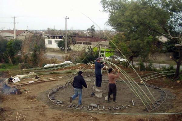 kezdődik az építkezés
