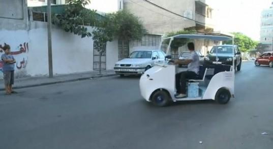 Gáza elektromos autója