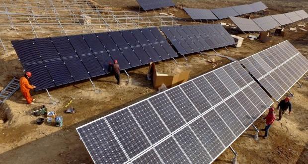 A világ legnagyobb naperőművét építik Kínában