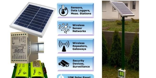 Magyar fejlesztésű szünetmentes napelemes tápegység