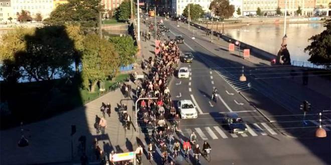 Most először többen kerékpároztak, mint autóztak a dán fővárosban