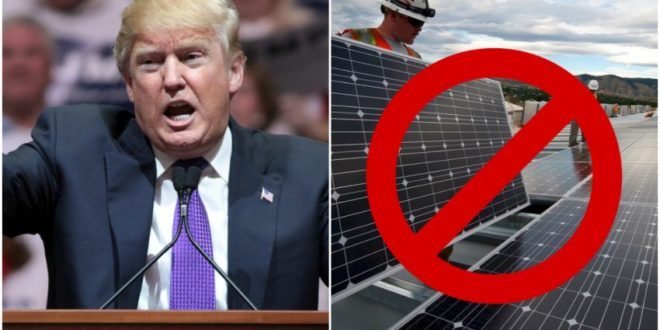 Trumpék megújulók energiákat pénzelnek külfüldön