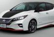 Megérkezett a sportos villanyautó, a Nissan Leaf Nismo