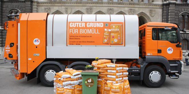Bécsben virágföldet készítenek a városban keletkező zöldhulladékból
