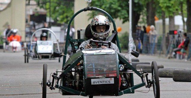 Ez lesz a magyar Forma 1? Sűrített levegővel hajtott járművek versenyeznek