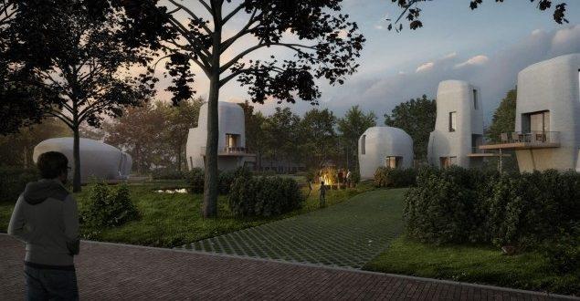 Robotok fogják építeni az Eindhoveni 3D-s házakat