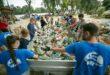 Három nap alatt közel három tonna hulladékot gyűjtöttek a Tiszán a Pet Kalózok