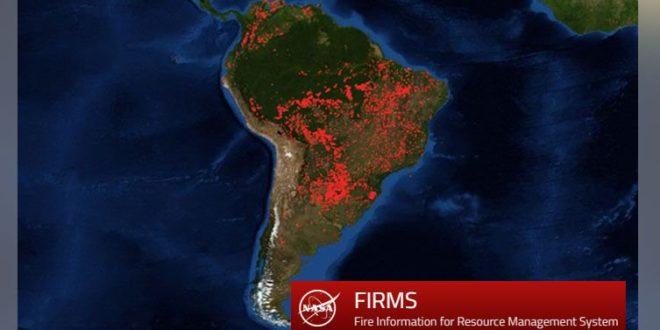 Globális veszélyt jelent az amazonasi erdőtűz