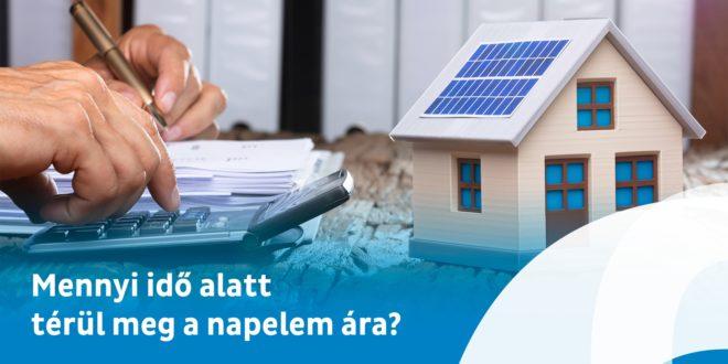 Mennyi idő után termel hasznot a napelemes rendszer?