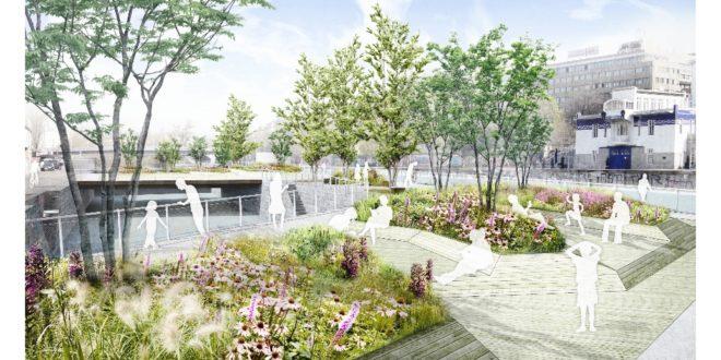 A hőhullámok ellen úszó kertekkel védekezik Bécs