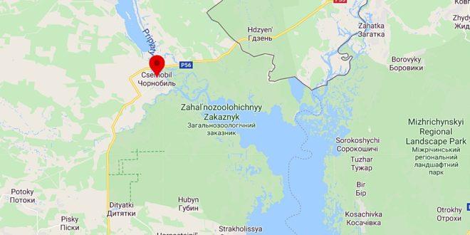Magyarországon nem emelkedett a háttérsugárzás a Csernobili erdőtűz miatt