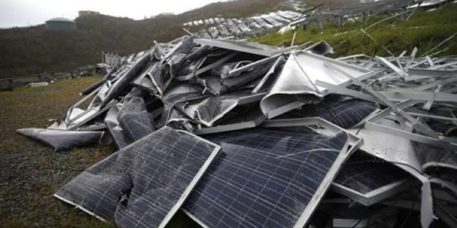 Mi történik az elöregedett napelemekkel?
