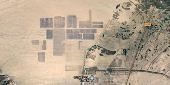 Látott már 2 millió napelemet egy képen?