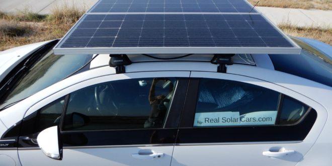 Mi értelme napelemet szerelni autókra?