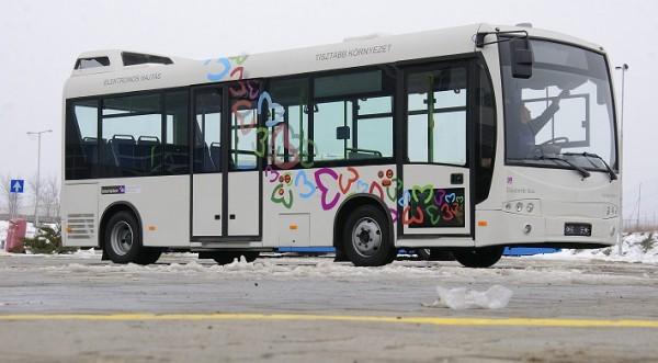 Magyar fejlesztésű elektromos hajtású busz