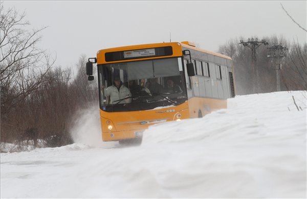 Menetrendszerinti autóbusz Borsodban