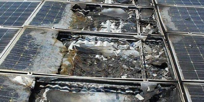 Napelem tűz: Porig égett egy 2500 hektoliteres konyakraktár Franciaországban