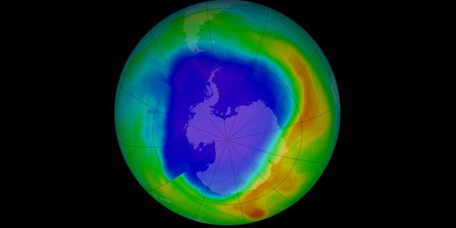 A legkisebb kiterjedésű volt az ózonlyuk 1982 óta