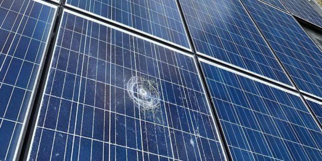Tönkreteheti a jégeső a napelemeket?